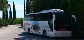 Reisebus in Italien