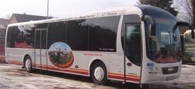 Überlandbus für Anmietung + Ausflugsfahrten
