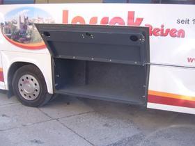 Midibus - Kofferraum