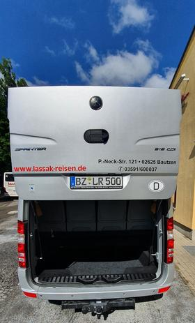 Sprinter 516 - LR 500 Heck Kofferaum